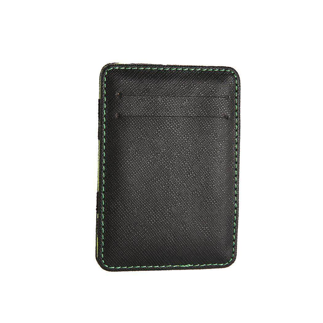 Hình ảnh Toprank Ultra Thin Card Holder Minimalist Front Pocket Wallet Synthetic Leather Card Case - intl