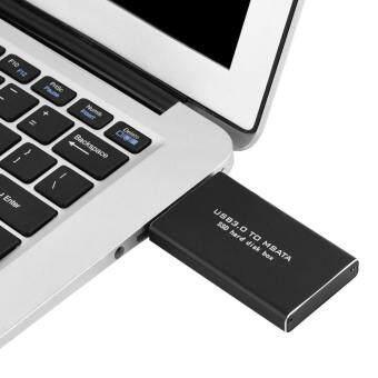 Harga preferensial Baru USB3.0 untuk SSD MSATA Lampiran Hard Disk 120G Hitam-Intl