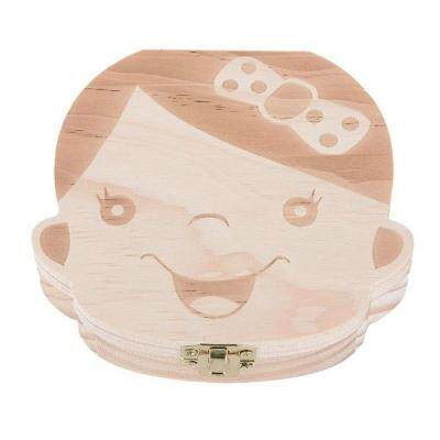 Baby Organizer Dental Teeth Box Milk Tooth Wooden Container By Etop Store.