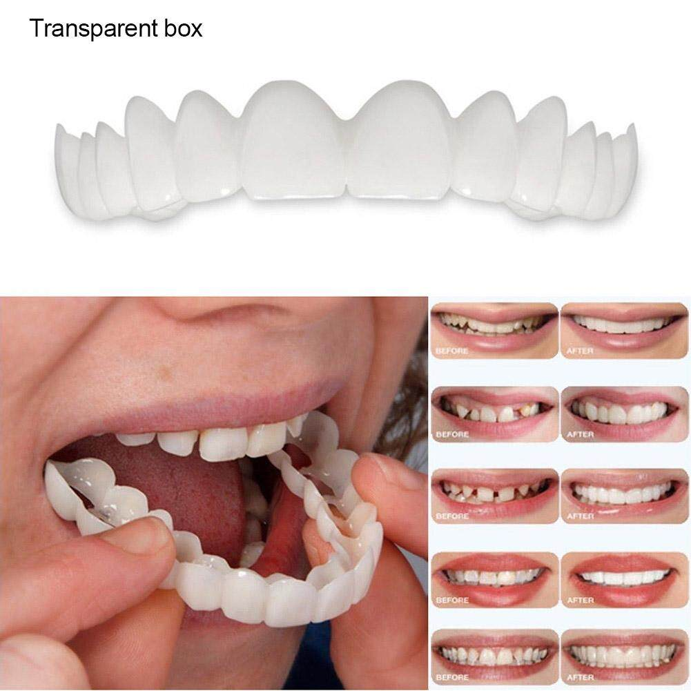 Smile Denture Fit Flex Cosmetic Teeth Comfortable Veneer Cover