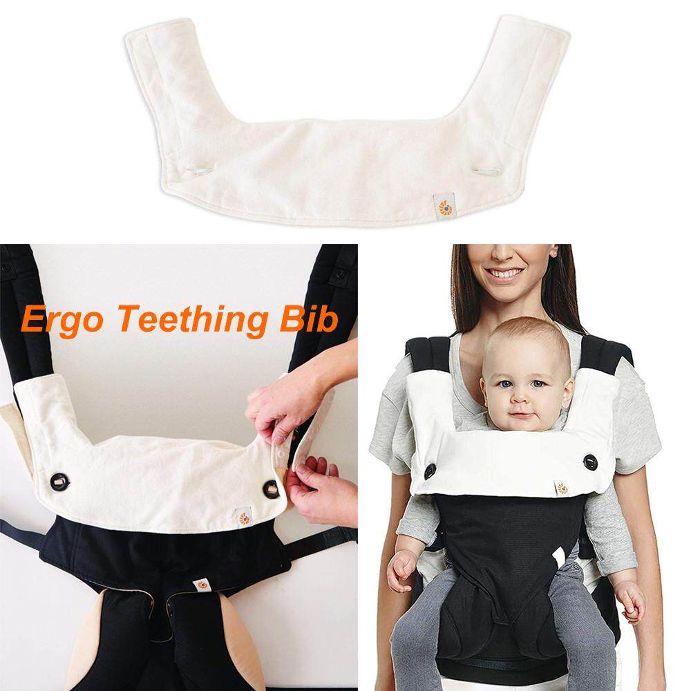 Exellence Ergo-baby Four Position 360 Carrier Teething Pad &Bib Natural