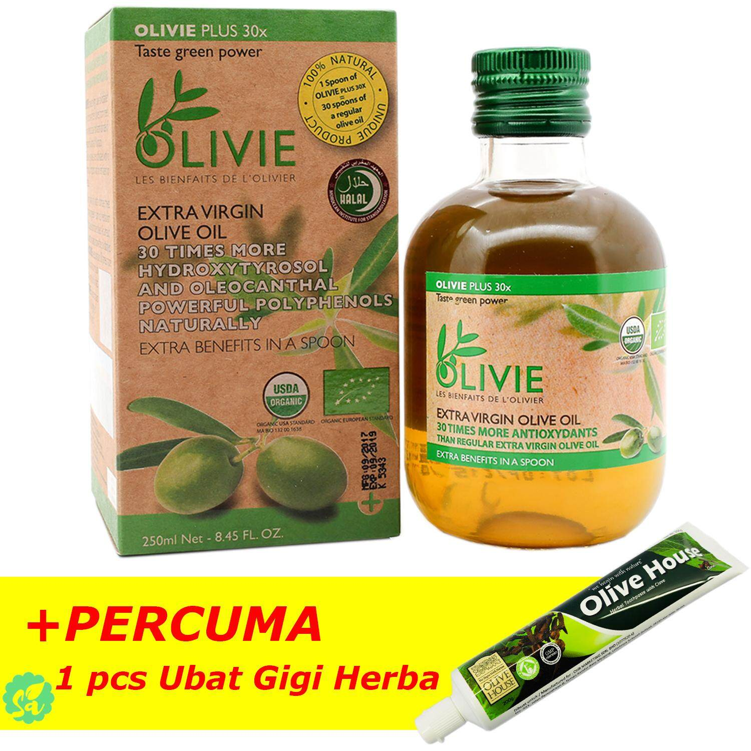 Olive House Products For The Best Price In Malaysia Minyak Kutus Original Extra Virgin Oil Olivie Plus 30x