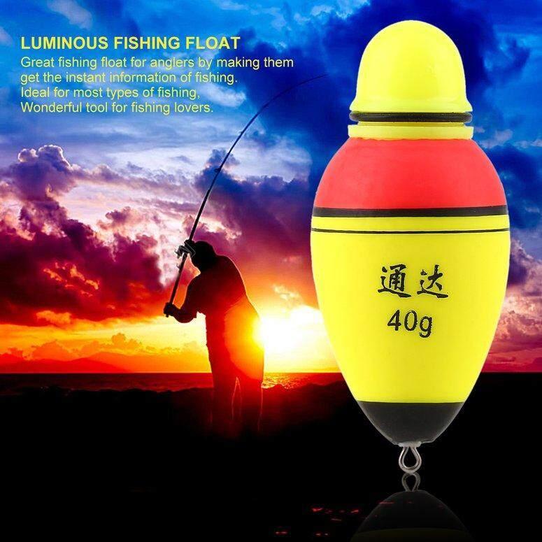 Lifef Pencahayaan Bercahaya EVA Busa Float LED Tongkat Pancing Ringan Pelampung Pancing Mengapung .