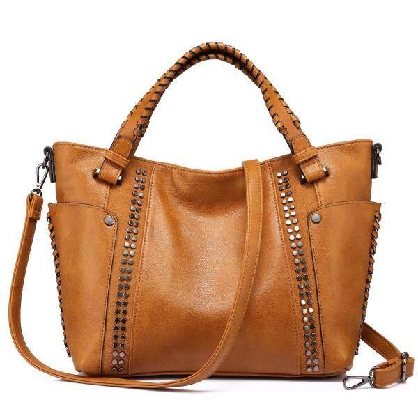 REALER women handbags artificial leather totes ladies shoulder crossbody bags for women large messenger top-handle bag bucket