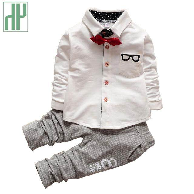 Kids Clothes Boys Autumn Children Clothing Sets Formal Suit Girls Boutique Outfitss Gentleman Toddler Boy Clothes Birthday Dress By Hh Official Store.