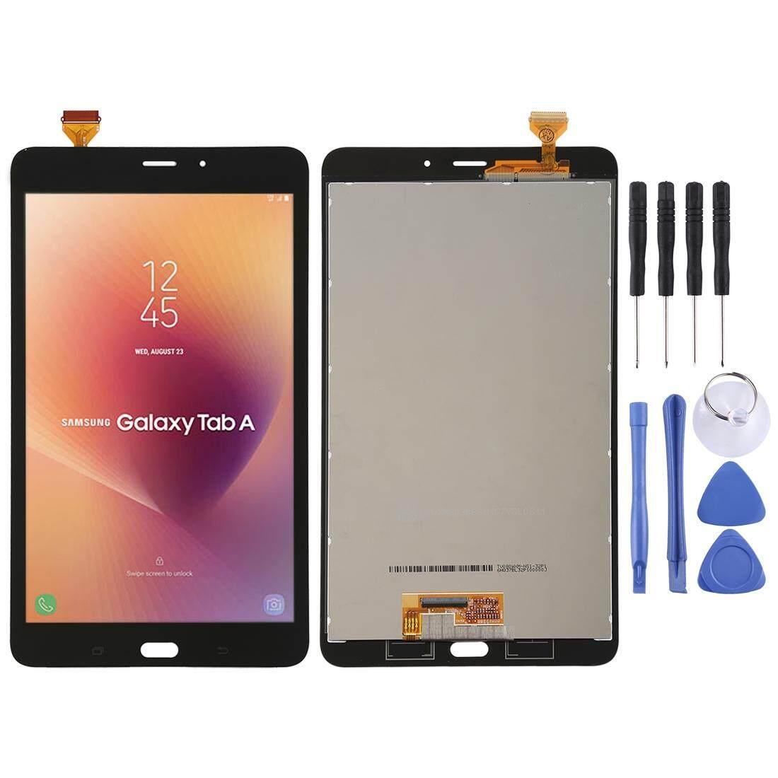 Layar LCD dan Digitizer Penuh Rakitan untuk Samsung Samsung Galaxy Tab Yang T385 (Hitam)