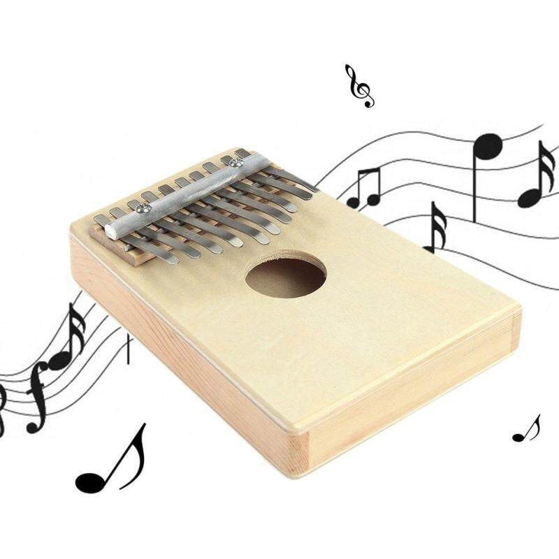 OH 10 Key Finger Mbira Kalimba Thumb Piano Mini Pine Wood Percussion Instrument Malaysia