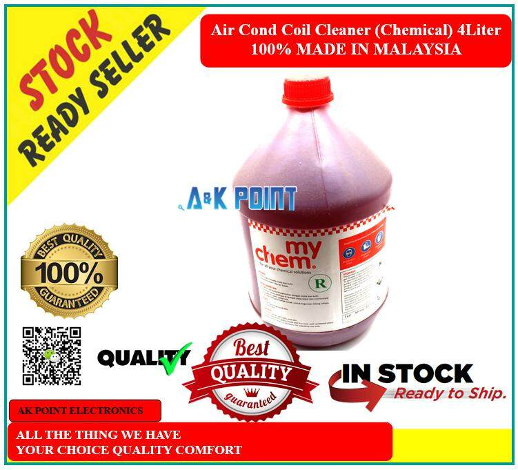 Air Cond Coil Cleaner (Chemical) 4Liter Super Strong 100% Buatan Malaysia