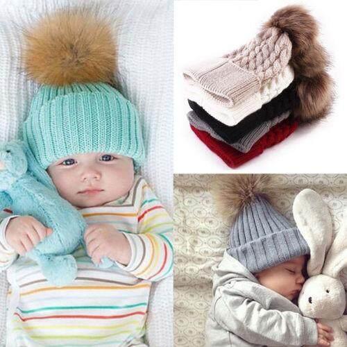 Balita Baru Lahir Bayi Lucu Anak Laki-Laki Perempuan Rajutan Crochet Topi Beanie Musim Dingin Hangat Topi By Sugarbabies.