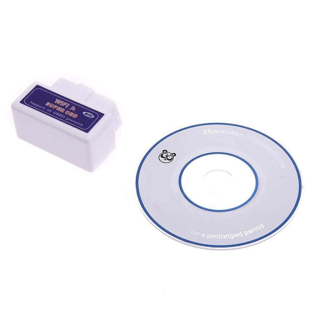 Huazhong Nirkabel OBD2 Mobil Kode Pembaca Wifi OBDII Scan Alat Pemindai Menghubungkan Adaptor Lampu Mesin Cek Alat Diagnostik-Internasional