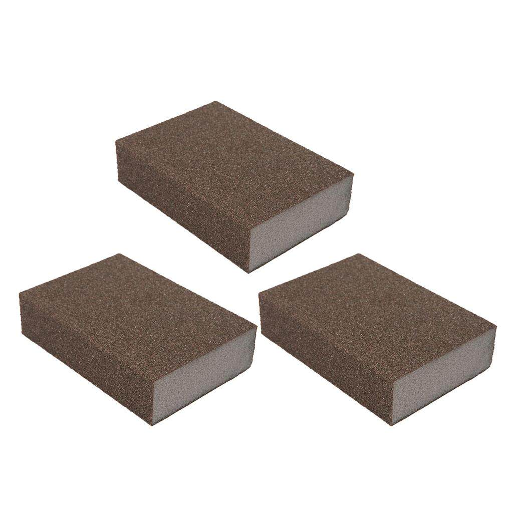 MagiDeal Double-sided Sponge Sandpaper 60-600# Grinding Polishing Abrasive Paper 240