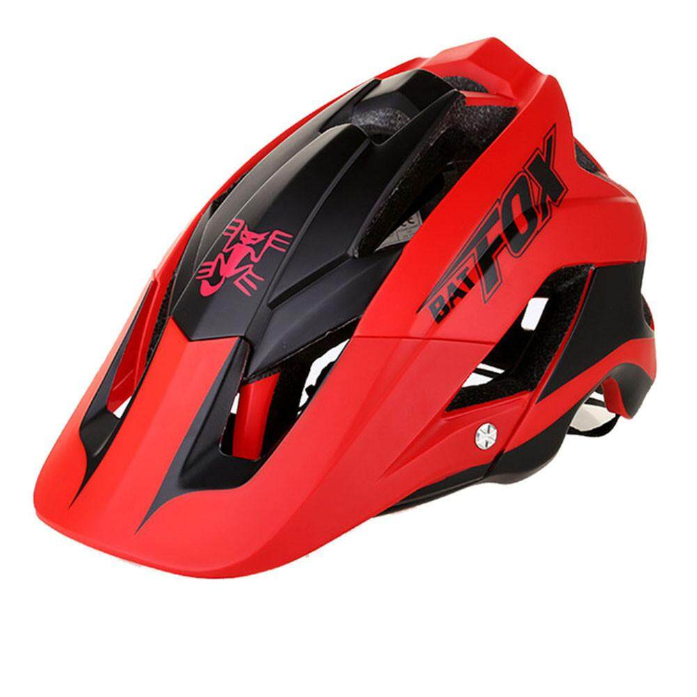 Batfox Helm Sepeda Sepeda Gunung One-Piece Riding Helm Helmet-F-659 By Storeshop.