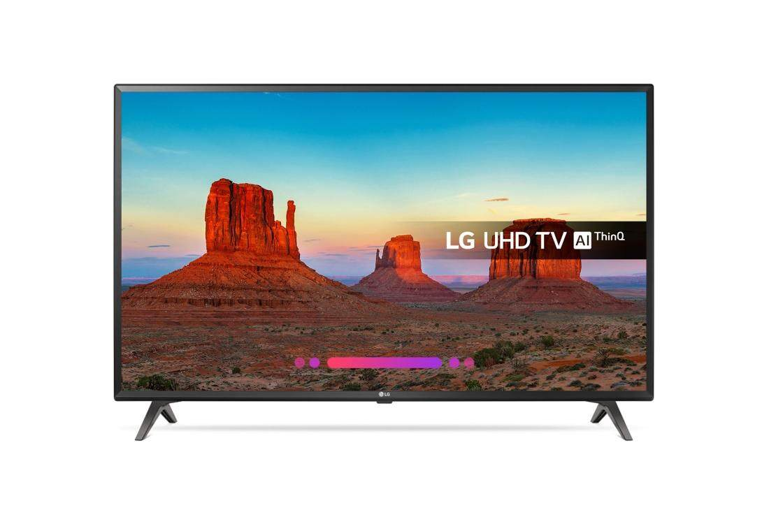 LG 49UK6300 49 Smart 4K Ultra HD HDR LED TV