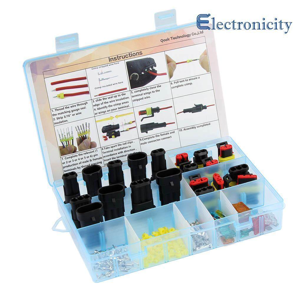Buy Sell Cheapest Fuse Best Quality Product Deals Indonesian Store Holder Sikring 60amper 2 3pin Waterproof Car Electrical Wire Plug Connector Terminal W Bade