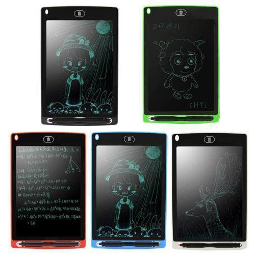 8.5 Digital Lcd Writing Drawing Tablet Pad Graphic Ewriter Boards Notepad By Erui.