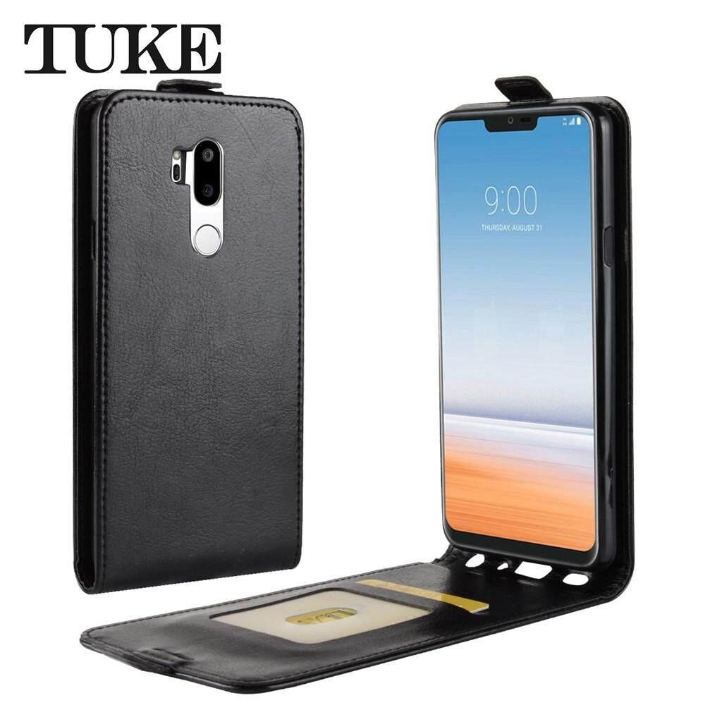 Tuke Mewah Vertikal Case Kulit untuk LG G7 Ponsel Cover Untuk LG G 7 Kulit Silikon ...