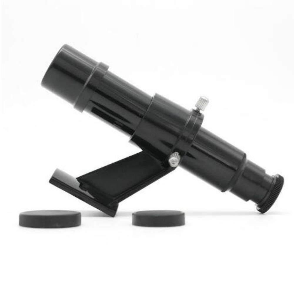Lechenstar Astro Optics 5x24 Star Pointer Finderscope with Bracket for Astronomy Telescope Accessories (Black)