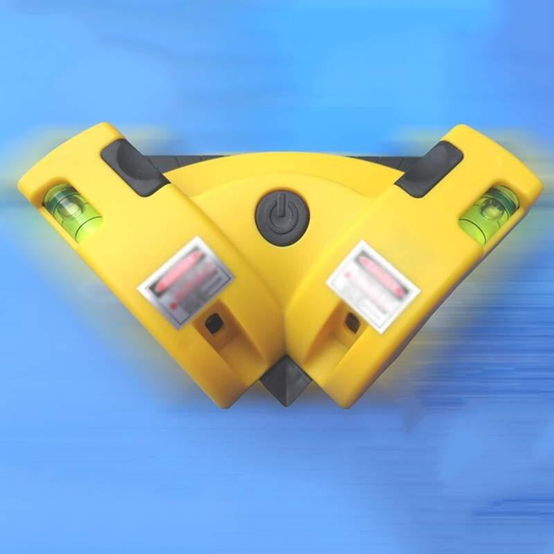 Doxiy Praktis Mesin Penggiling Vertikal Horisontal Garis Proyeksi Laser Tingkat Square Tepat 90 Derajat