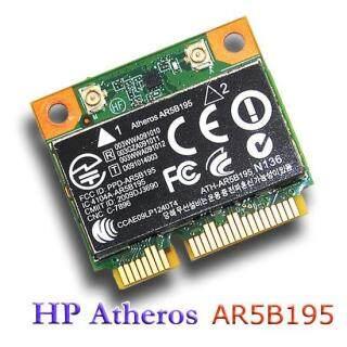 Atheros AR5B195 Thẻ PCI-E Mini Bluetooth WiFi 802.11n 150Mbps, ForHP Probook 4530S Pavilion G4-1000 G6-100 G7-1000 4530S thumbnail