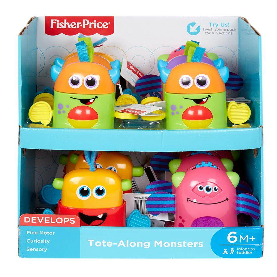 Toys Games Buy At Best Price In Malaysia Www Fisher Infant Learning Toaster Tote Along Mini Monster Assortment