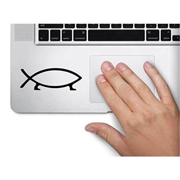 Lapisan Pelindung Laptop & Stiker Darwin Evolusi Ikan Hiasan Simbol Lucu Skin Laptop Macbook Trackpad Stiker Keypad Jendela-Internasional