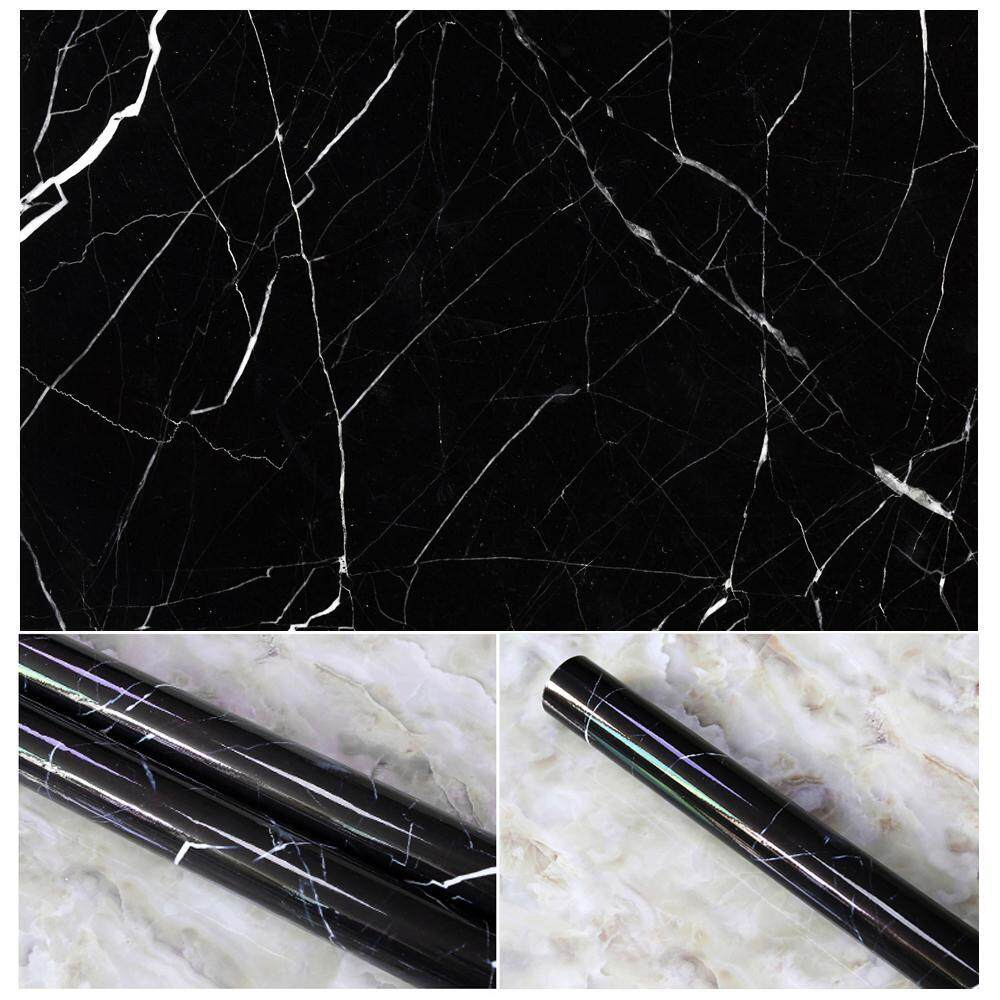 kaibo 10 Colors Granite Look Marble Effect Contact Paper Film Vinyl Self Adhesive Peel-stick Counter Top Decoration For Kitchen Counter,Closet,Bathroom Wall Sticker - intl