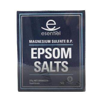 ESSENTIEL EPSOM SALTS 375G GRANULES FOOD GRADE
