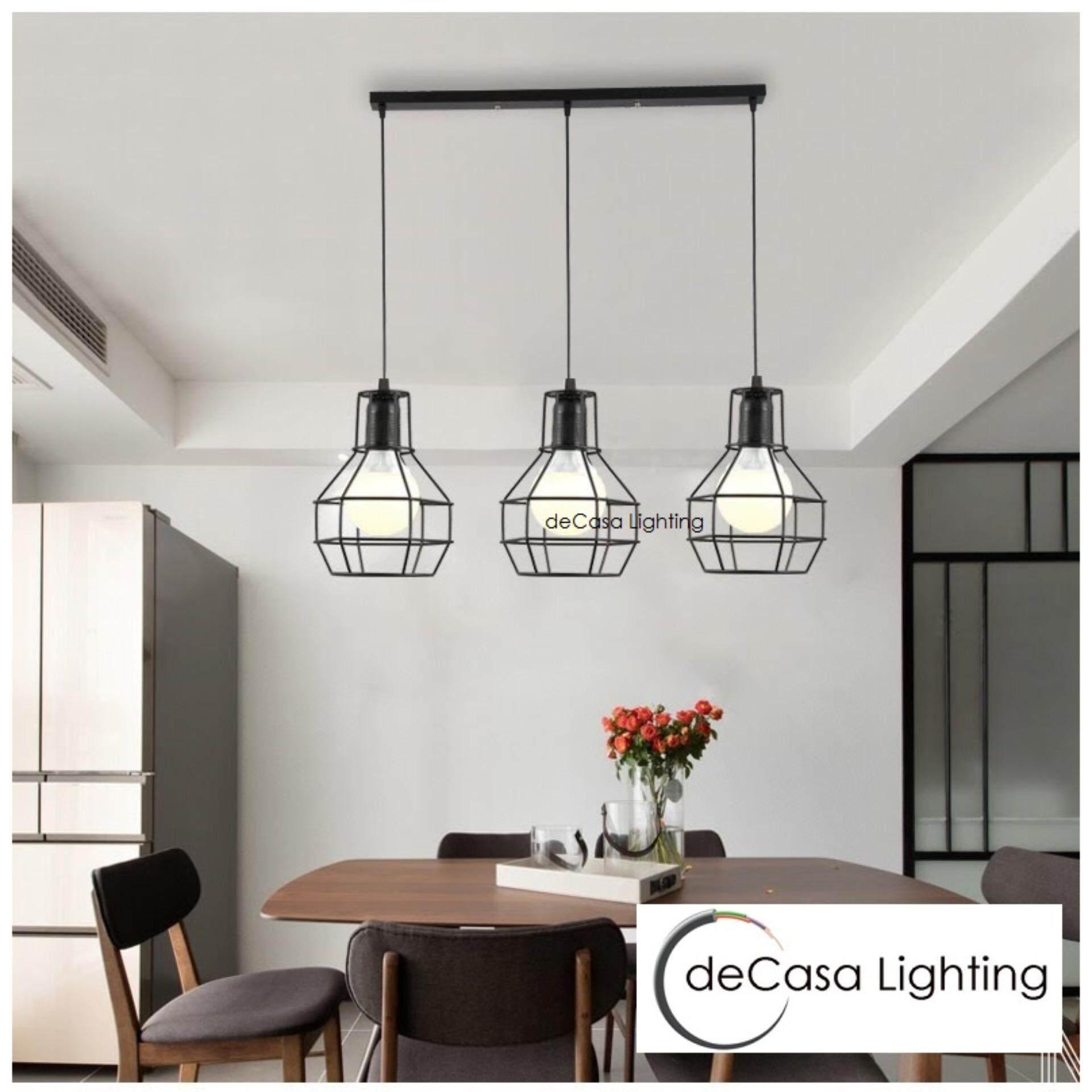 Ceiling lights pendants light long base decasa lighting designer decorative ceiling lights pendants light set of 3black loft designer decorative decasa