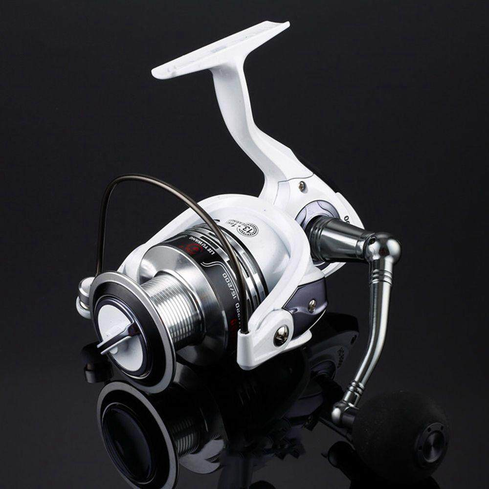 LIE YU WANG 13 + 1BB Gear Ratio 5.2: 1 Spinning Fishing Reel with Exchangeable