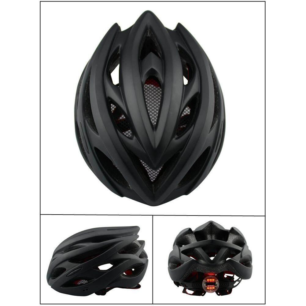 Xe Frosted Helm Sepeda dengan Lampu Sepeda Jalanan Pelindung Topi Aksesori Sepeda Gunung - 5