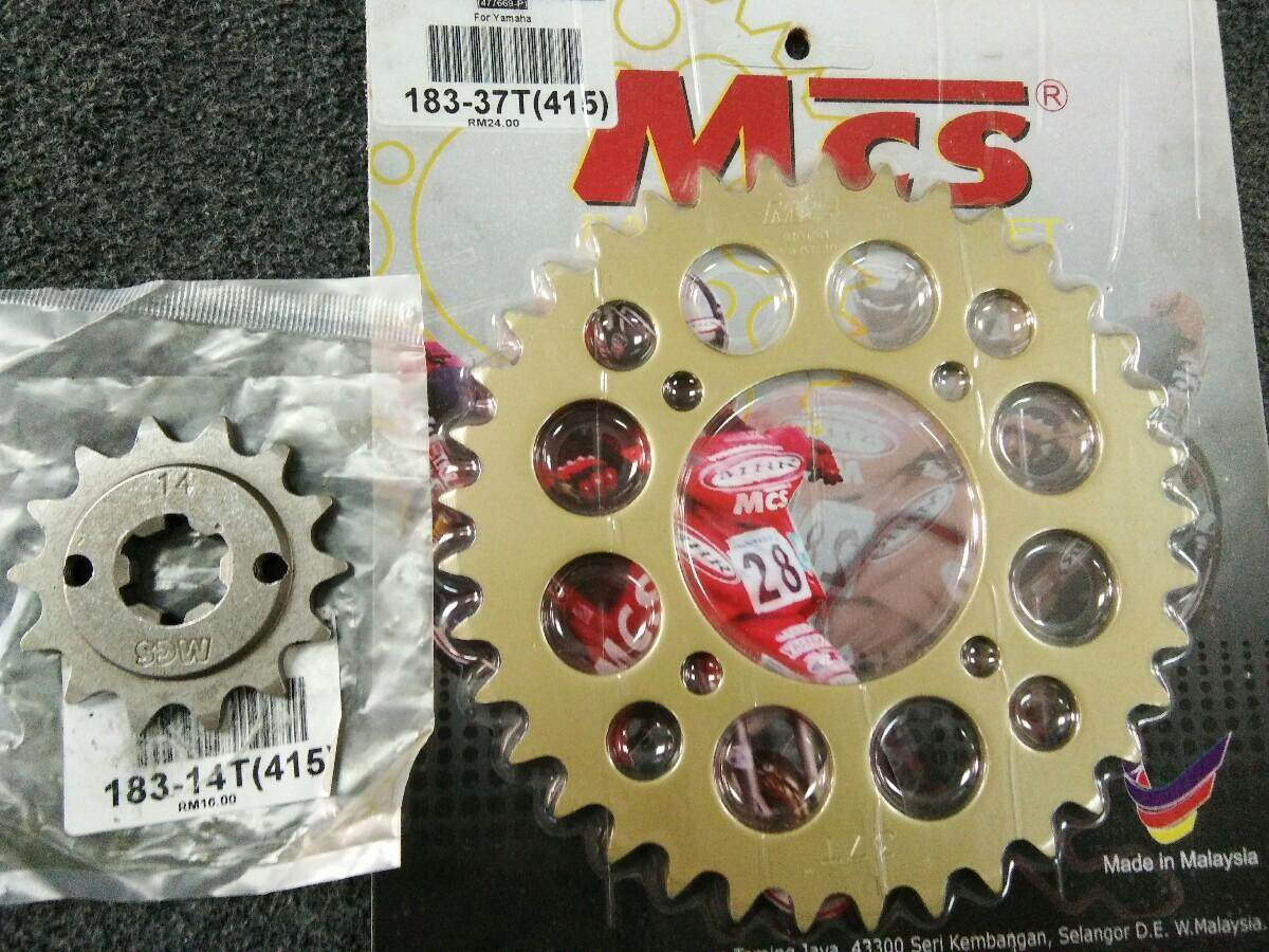 Review Sss 415 Yamaha 14t 36t Racing Sprocket Set Dan Harga