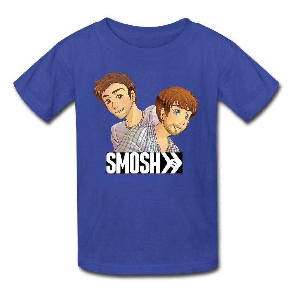 Yonth Anak-anak YouTube Smosh T-shirt Fashion Baru Olahraga Remaja Top-Intl