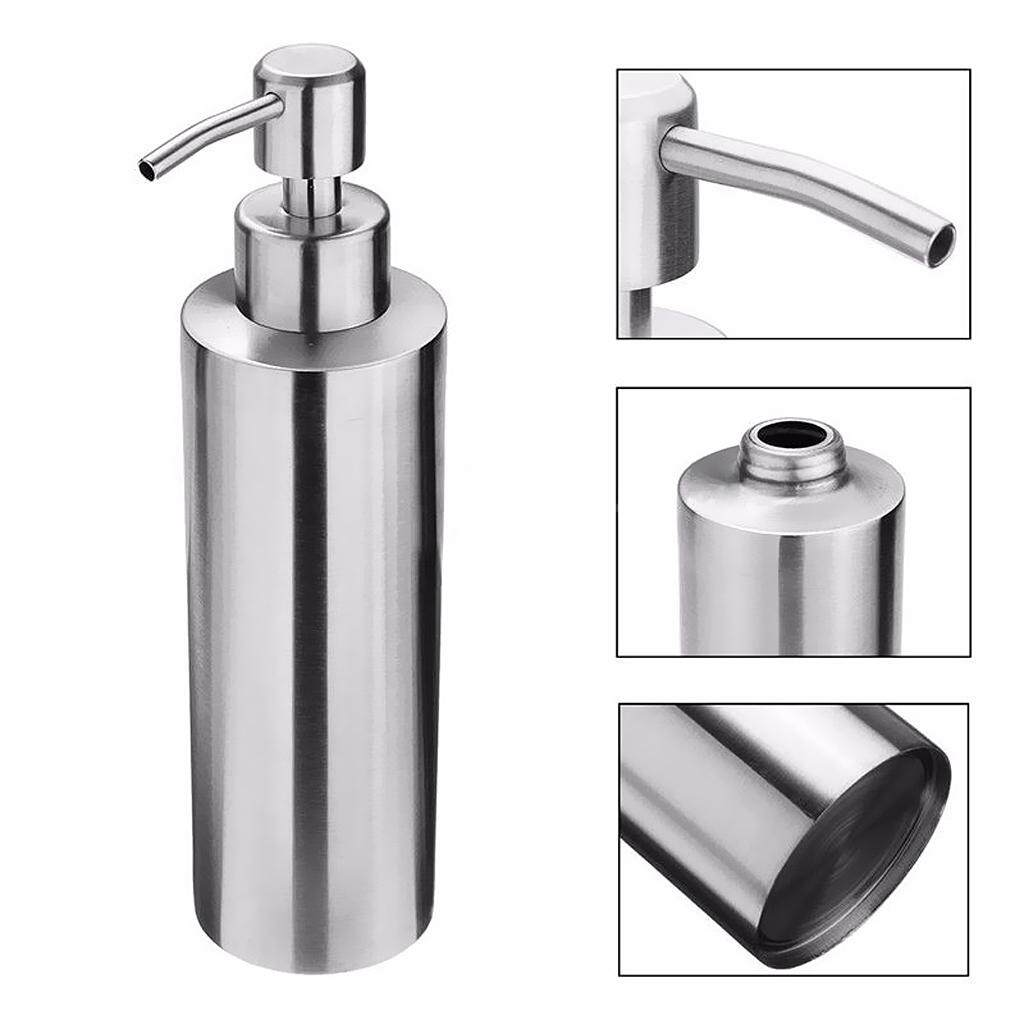Mã Khuyến Mại BolehDeals Bathroom Soap Pump Shampoo Dispenser Lotion Liquid Bottle Container 350ml 390ml 290ml ...