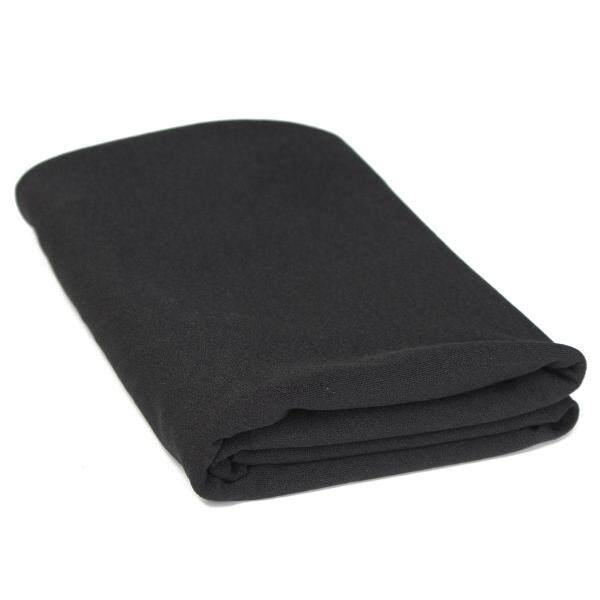 【Free Shipping】Black Audio Speaker Grill Cloth Stereo Fabric Speaker Mesh Cloth Thick 1.6x0.5m