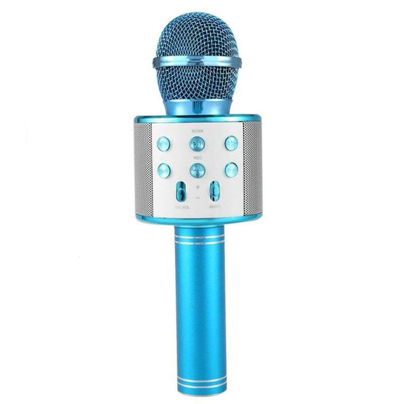 Bluetooth Microphone Handheld Karaoke Mic USB KTV Player Bluetooth Speaker Record Music Microphones