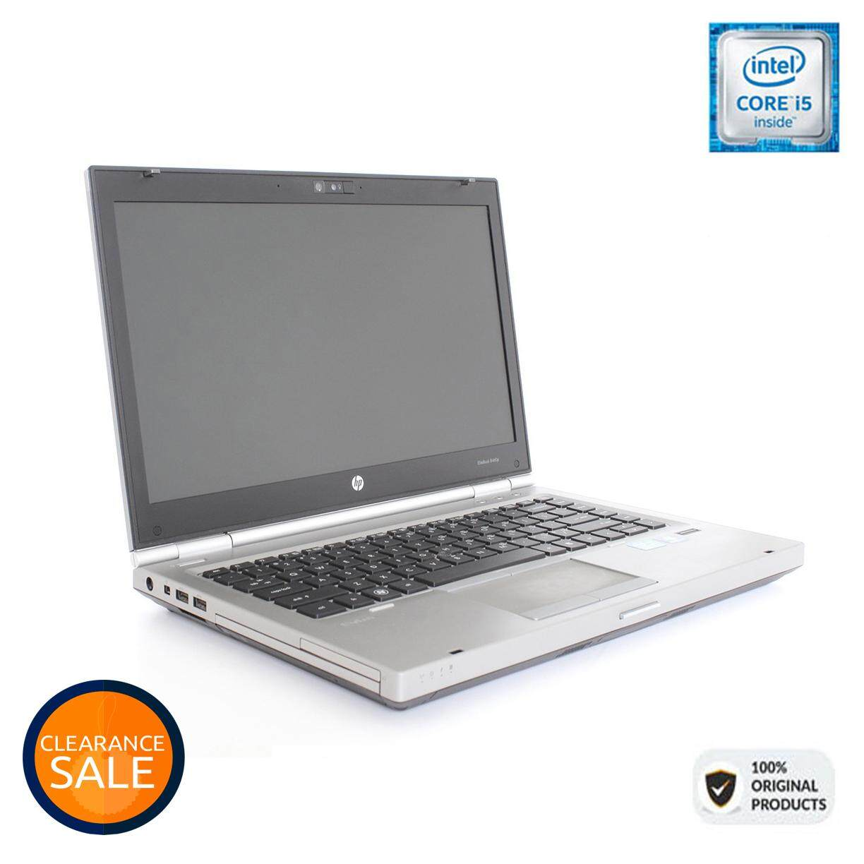 HP ELITEBOOK 8460P - CORE I5 | 4GB |1000GB HDD | SUPERDUTY [ORIGINAL REMANUFACTURED] Malaysia