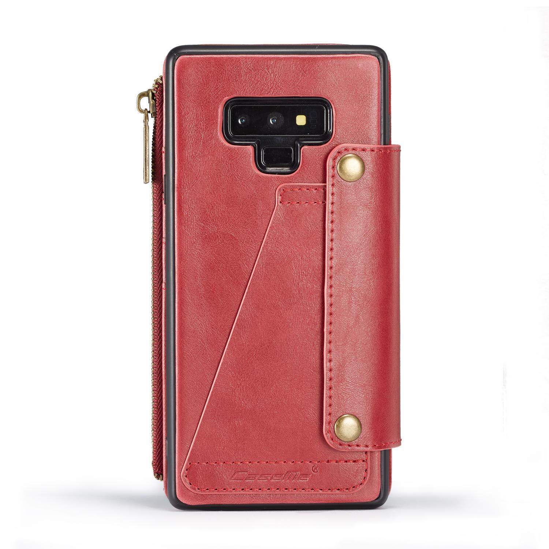 ... Case Saya untuk Samsung GALAXY Catatan 9 Multifungsi Sisi Sebaliknya Gesper Flip PU Case Kulit 6.4 ...