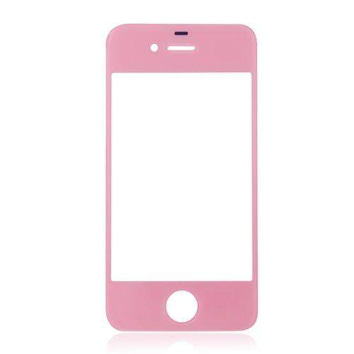 Lucky-G Generic Replacement Front Glass for iPhone 4/4S/4 CDMA GSM (Pink) - intl