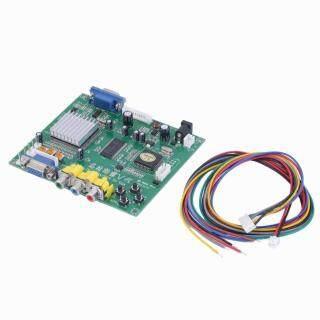 Bảng Chuyển Đổi Video RGB CGA EGA YUV Sang VGA HD Màu Mới Có Dây HD9800 GBS8200 thumbnail