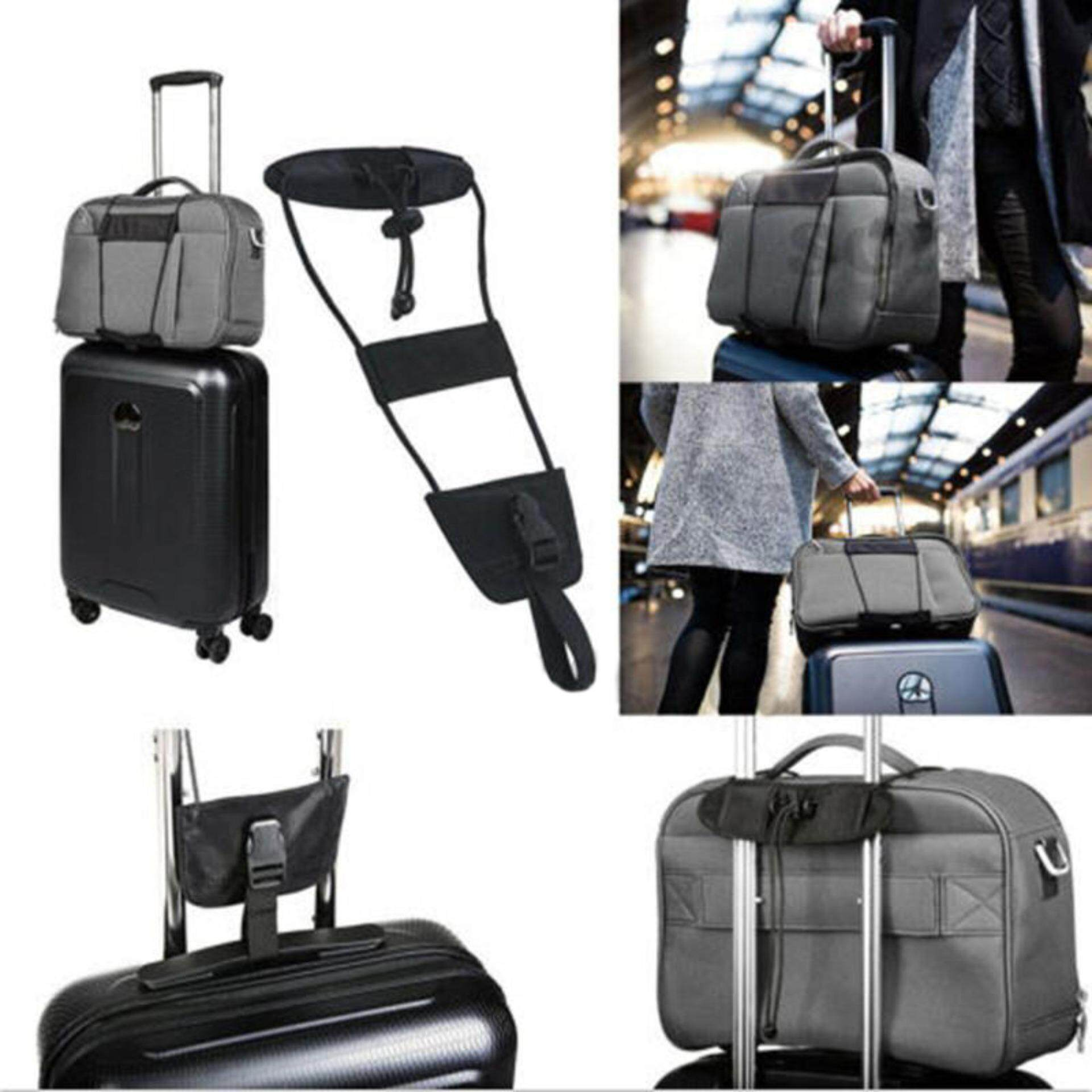 Travel Luggage Bag Bungee Suitcase Adjustable Belt Backpack Carrier Strap