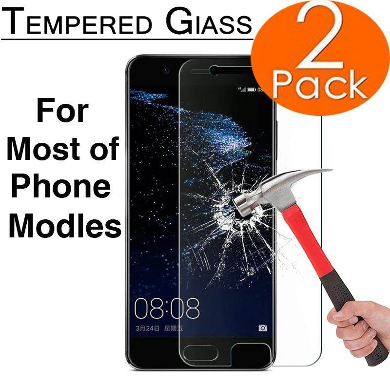 2pcs 9H Hardness Nano-coating Tempered Glass Film Phone Protective Film Screen Protector for iPhone x iphone 8 8plus 7 7 Plus 6 6s Plus 5 5s SE for Samsung galaxy note 8 sony xperia z5(Clear)(Motorola Moto Z) - intl