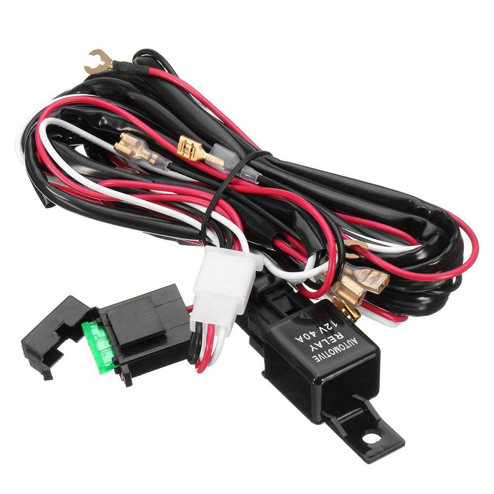 Car Security Accessories For Sale Safety Tools Online Brands Details About 12v 40a Relay Switch Control Wiring Harness Kit Led Tookie 300w Fog Light Rocker Fuse