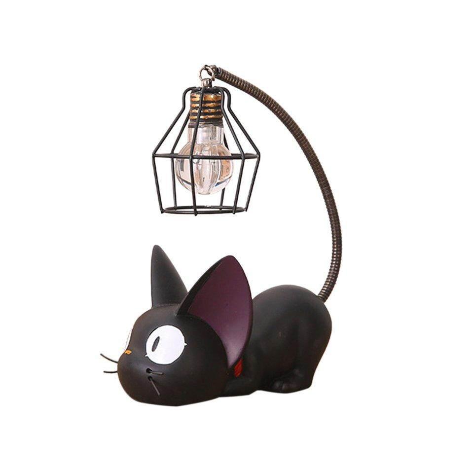 B-Life Small Cat Night Light Lightweight Resin Monsterzzz Fashion Cute Nightligh mesh shade