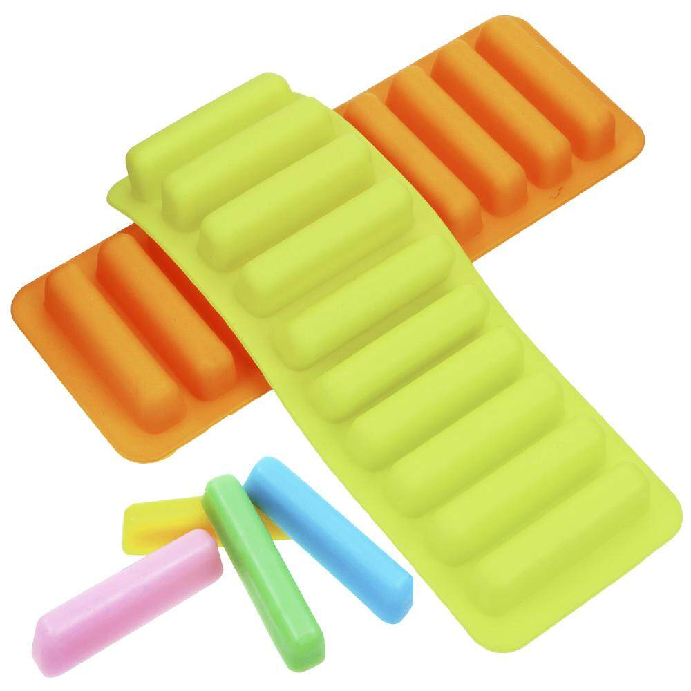 Silicone Ice Cream Markers Ice Cube Tray Mold Ice Stick Mold Fit Most Soda Whiskey Water