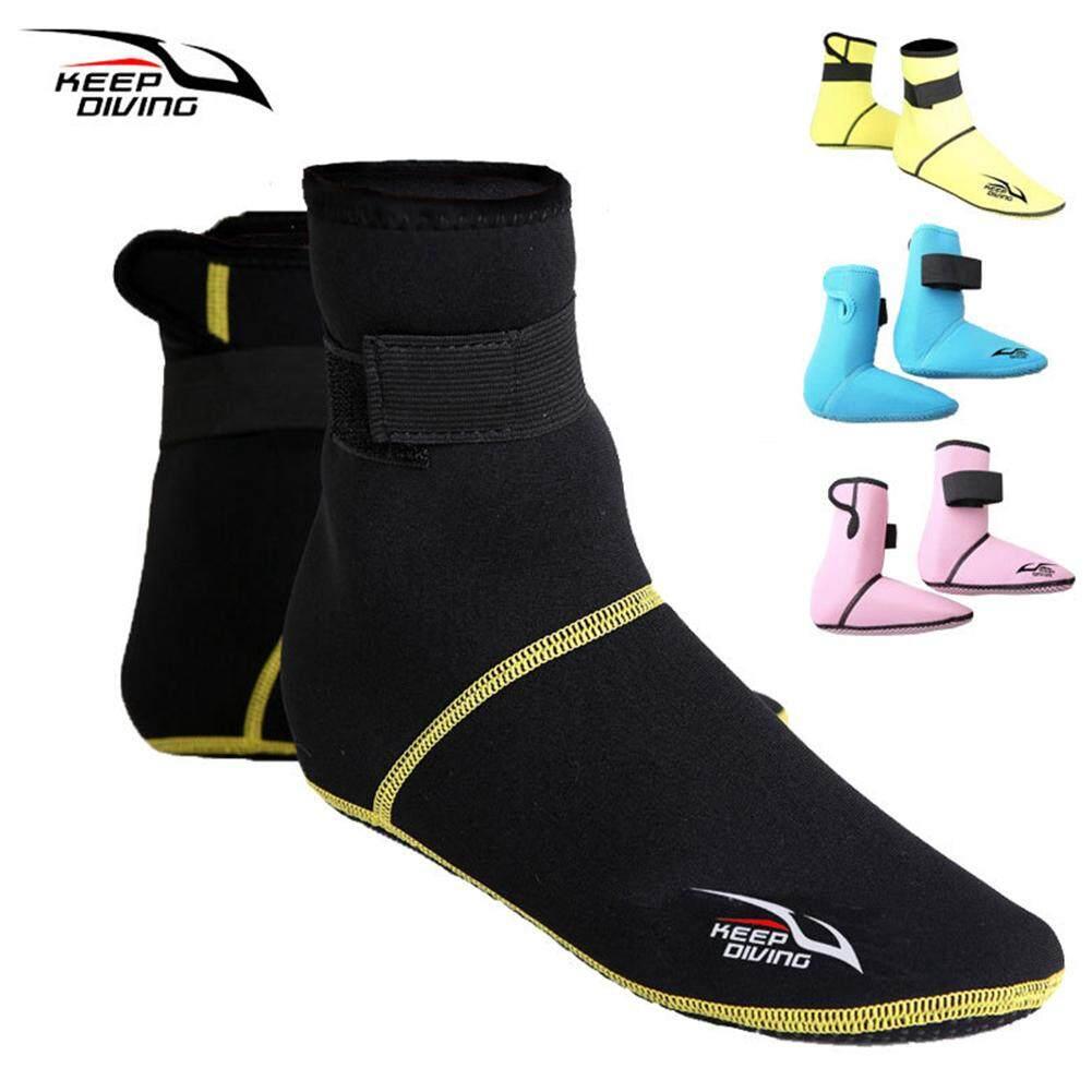 3 Mm Menebal Kaus Kaki Selam Sepatu Sepatu Snorkeling Neoprene Anti Selip dan Bersirkulasi Udara Sepatu