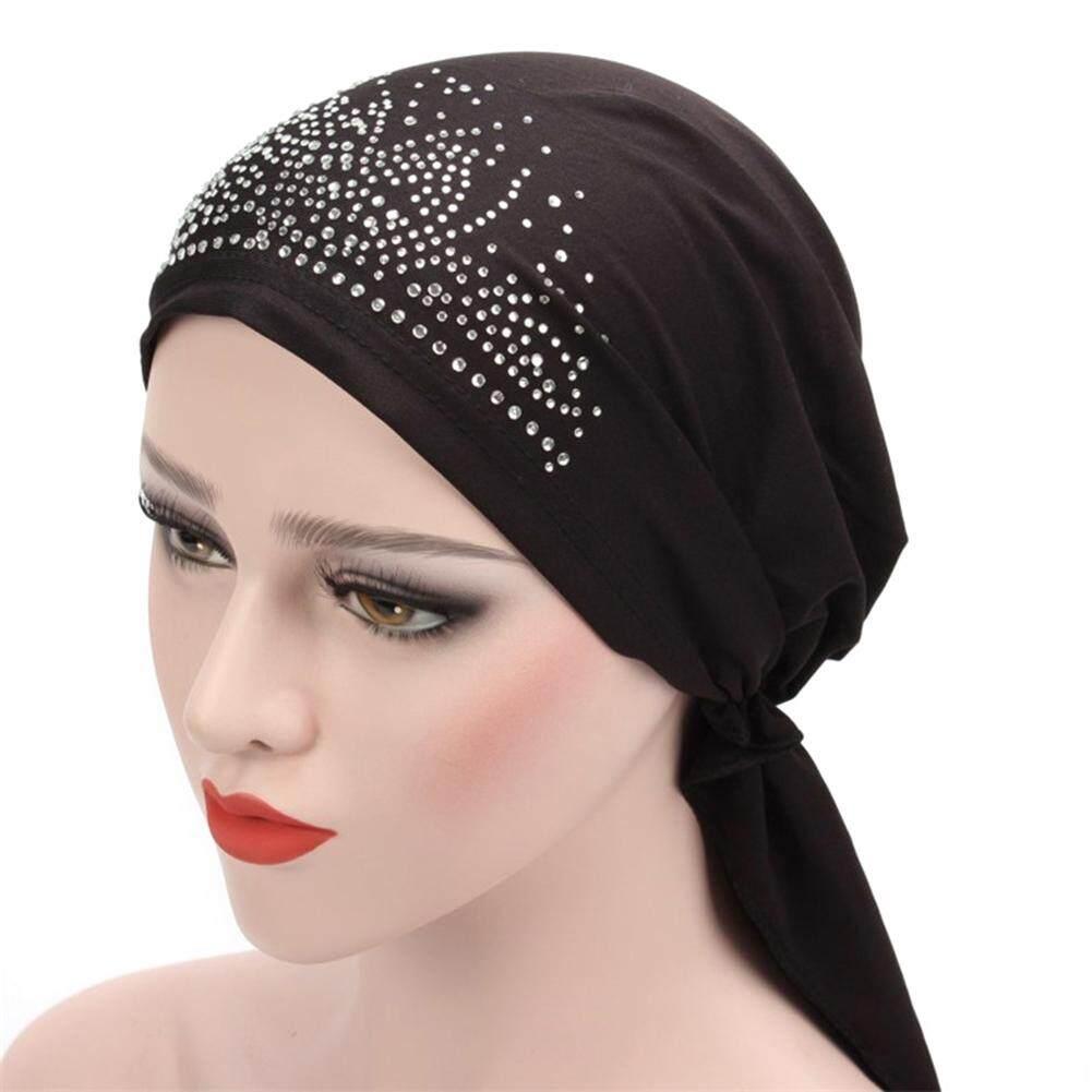 c301dcde7dd Windycat Fashion Lady Muslim Turban Hat Hair Loss Hijab Cover Chemo Cap