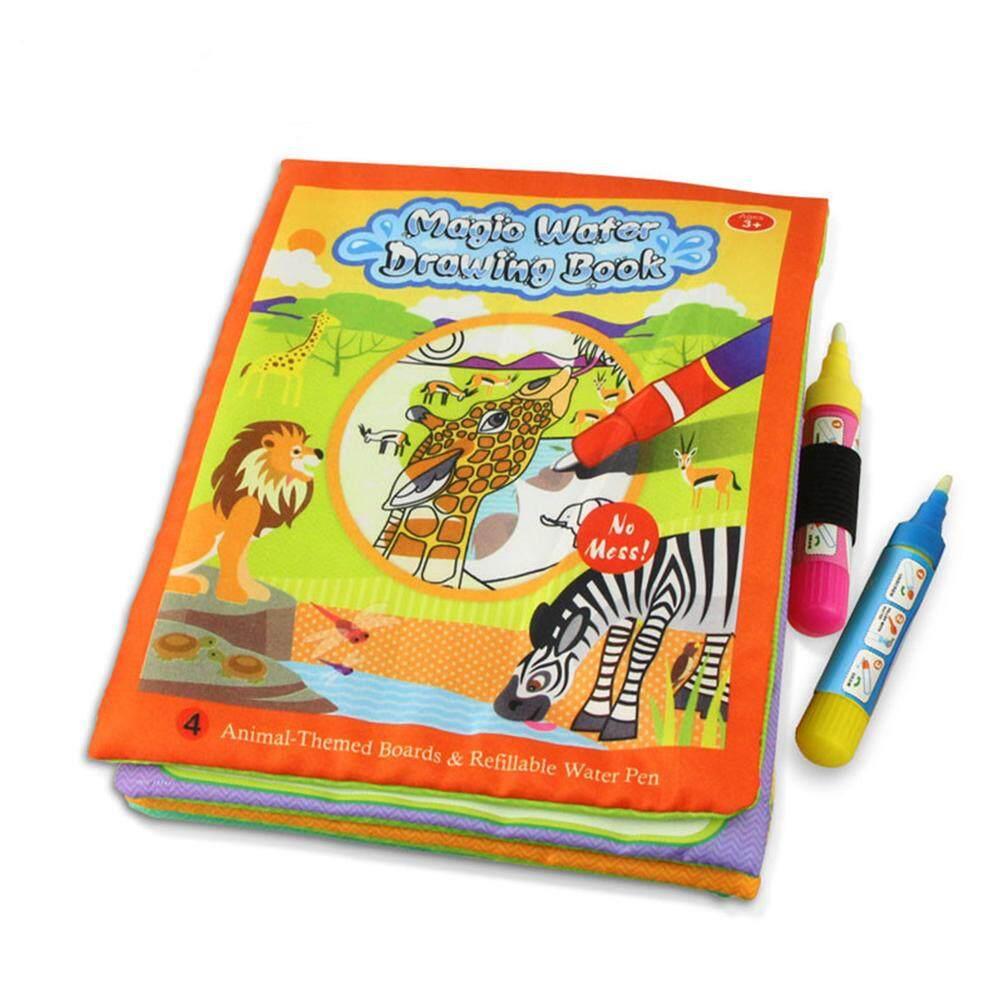 Hình ảnh Trẻ em Nước Cho Bé Vẽ Sách Hoạt Hình Hình Bút Ma Thuật Tranh Doodle Dụng Cụ Đồ Chơi Giáo Dục cho Trẻ Em