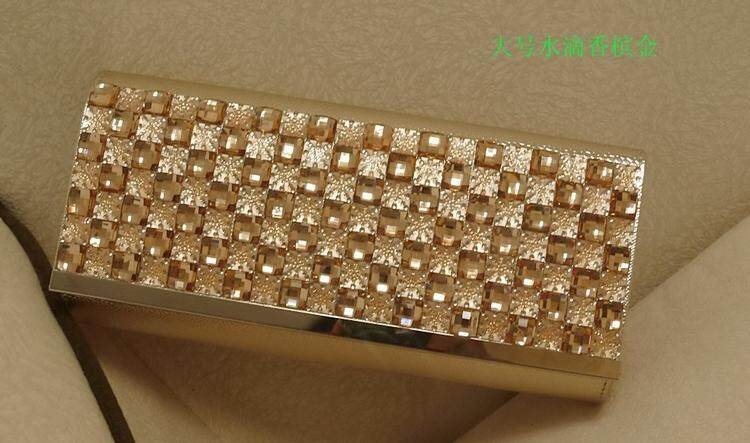 [PRE-ORDER] Women Dinner Night Formal Bling Clutch Handbag