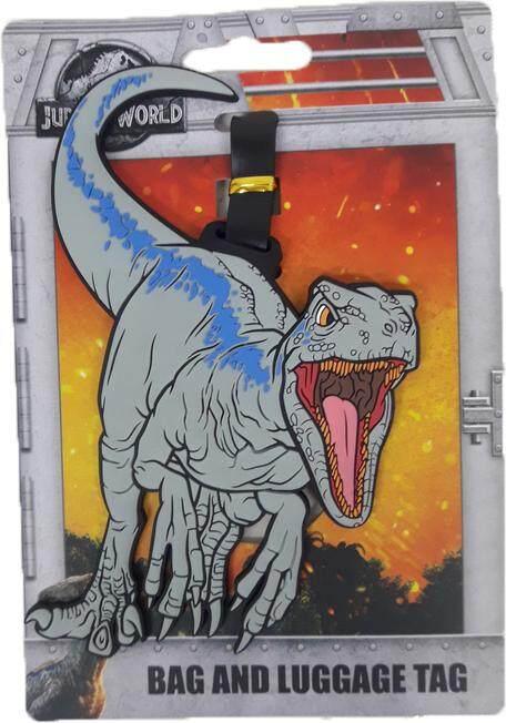 Jurassic World Luggage Tag Raptor