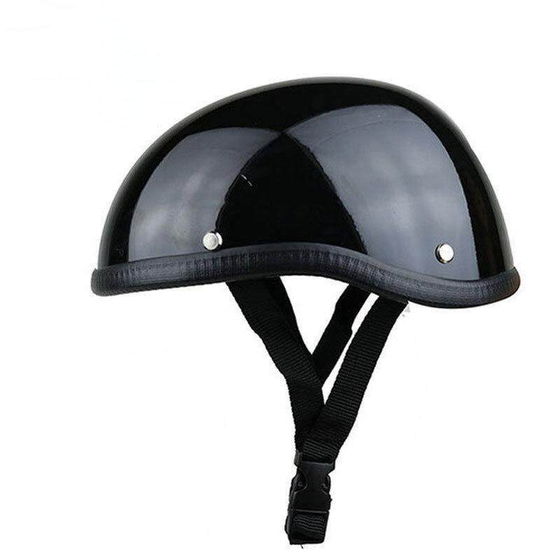 yunmiao Unisex Professional Motorcycle Half Helmet Hat Cap for Harley  Chopper Bobber